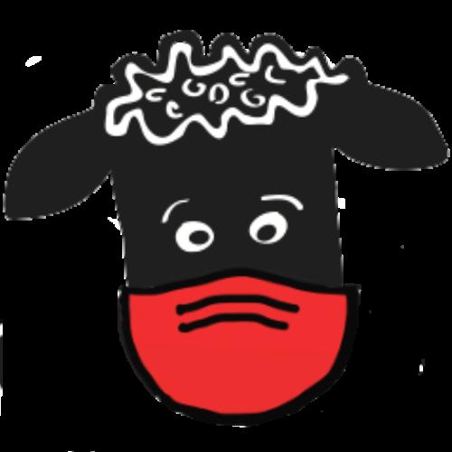 Sheep-head-mask