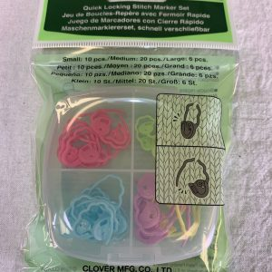 Clover Quick Lock Stitch Mark Set #3033